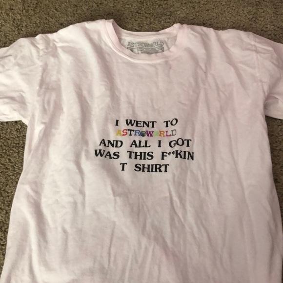 64d37778d22e travis scott Shirts   Astroworld Wish You Were Here Tshirt   Poshmark
